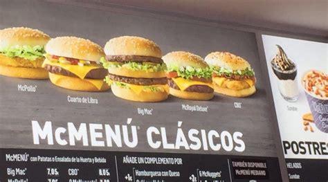 McDonald s Spain Prices   McDonalds España   McDonald s ...