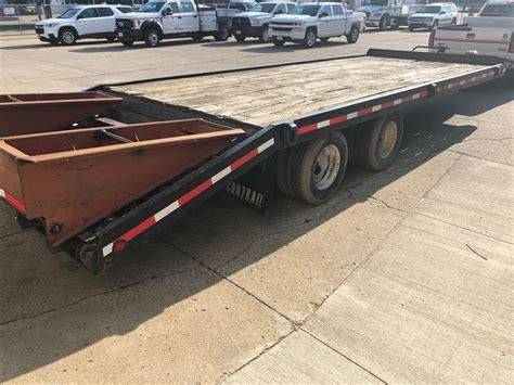 MDU Resources Surplus Auction   1997 Contrail C 20 Flatbed ...