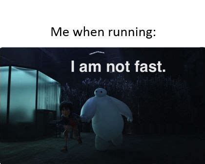 me running: baymax I am not fast! this idea just came to ...