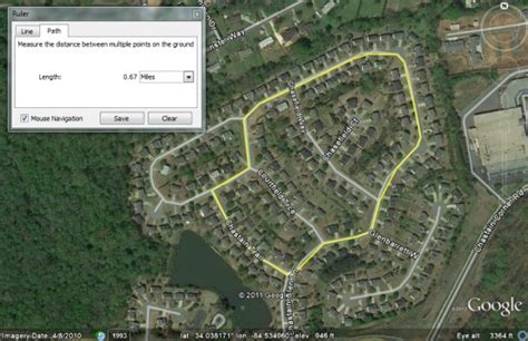 Measuring distances with the Google Earth Ruler   Google ...