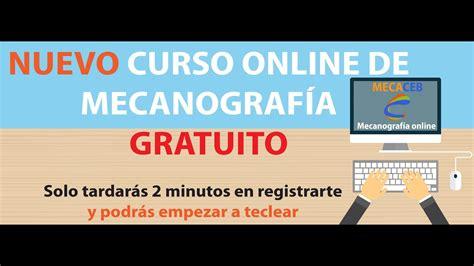 MECACEB. Curso de mecanografía online gratuito   YouTube