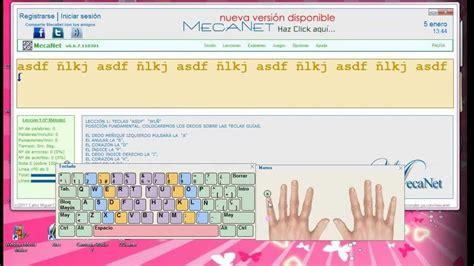 Mecanet para Windows: Mecanografía efectiva en poco tiempo ...