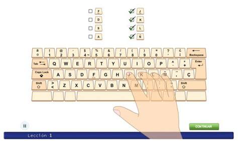 Mecanografia.com, curso de mecanografía online para niños ...