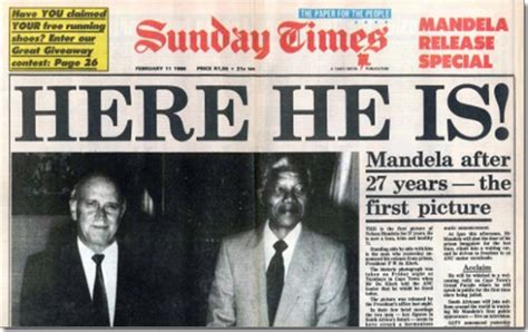 Media alert: Remembering Madiba's first days of freedom ...