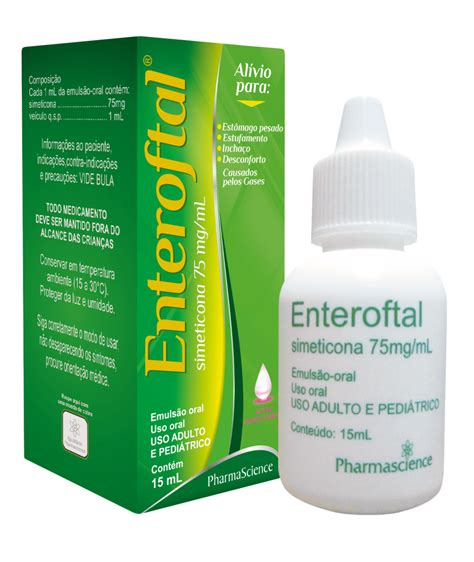 Medicamento para gases   Enteroftal   PharmaScience