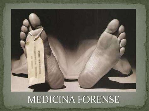 Medicina Forence : Medicina Forense