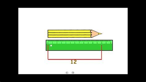 Medidas de longitud en 1º de Primaria   YouTube