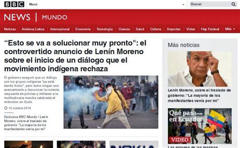Medios internacionales informan sobre las protestas en ...