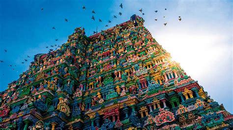Meenakshi, el espectacular templo de los colores de la India