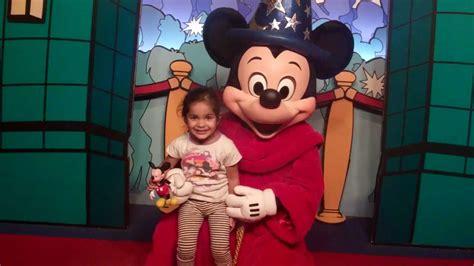 Meeting fantasia Mickey Mouse at Disney World   YouTube