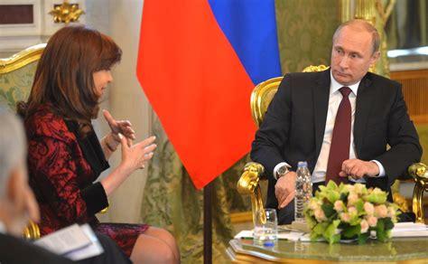 Meeting with President of Argentina Cristina Fernandez de ...