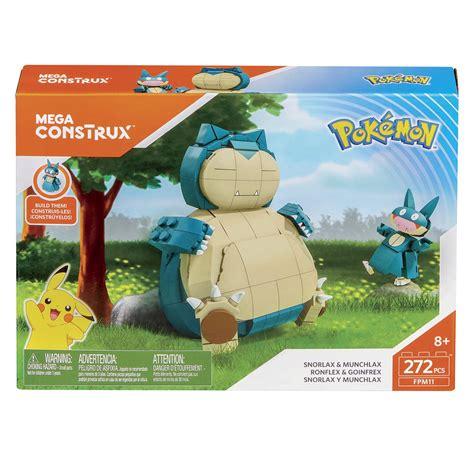Mega Construx Pokémon Snorlax Con Evolucion
