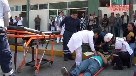 Mega  Simulacro EXPLOSIÓN DE GAS en el Hospital General ...