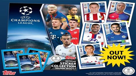 MEGA STARTER PACK | UEFA CHAMPIONS LEAGUE 2016 2017 ...