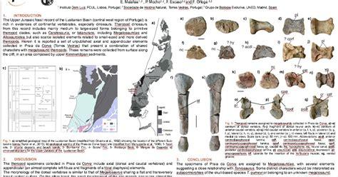 Megalosáuridos del Jurásico Superior portugues en el XIV ...