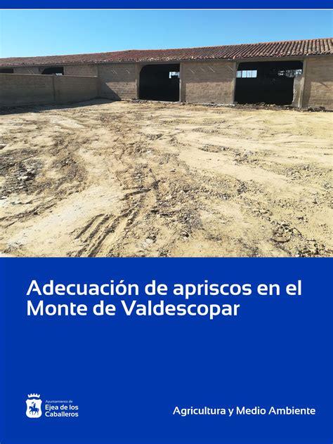 Mejora de apriscos en el Monte de Valdescopar   Ejea de ...