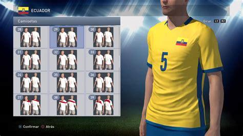 Mejora en la formula para hacer el uniforme de Ecuador ...