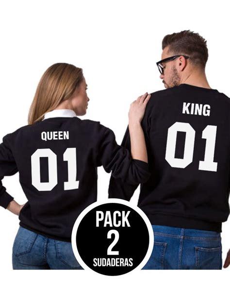 Mejores 8 imágenes de KING Y QUEEN: Camisetas, sudaderas y ...