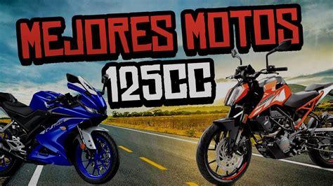MEJORES MOTOS 125cc Calidad Precio   YouTube