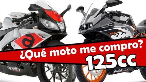 MEJORES MOTOS 125cc ,y diferencias entre 2t y 4 tiempos ...