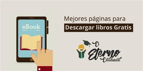 Mejores webs para descargar libros gratis  de forma legal