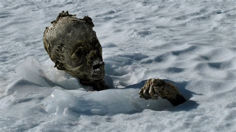Melting Glaciers Revealing Corpses   YouTube