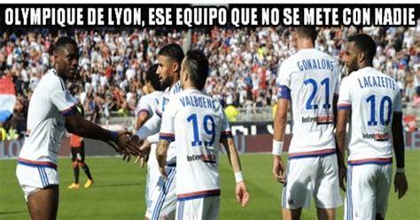 [ MEMEDEPORTES ] El Olympique de Lyon es el  punching ball ...