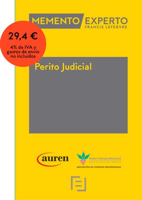 Memento Experto Perito Judicial   Lefebvre