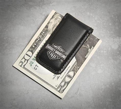 Men s Bar & Shield Logo Money Clip | Harley gift, Harley ...