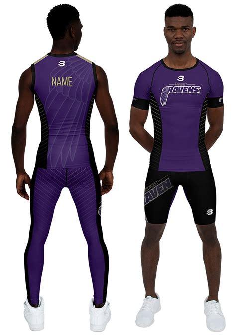 Men s Custom Compression Clothing   Blackchrome Sportswear