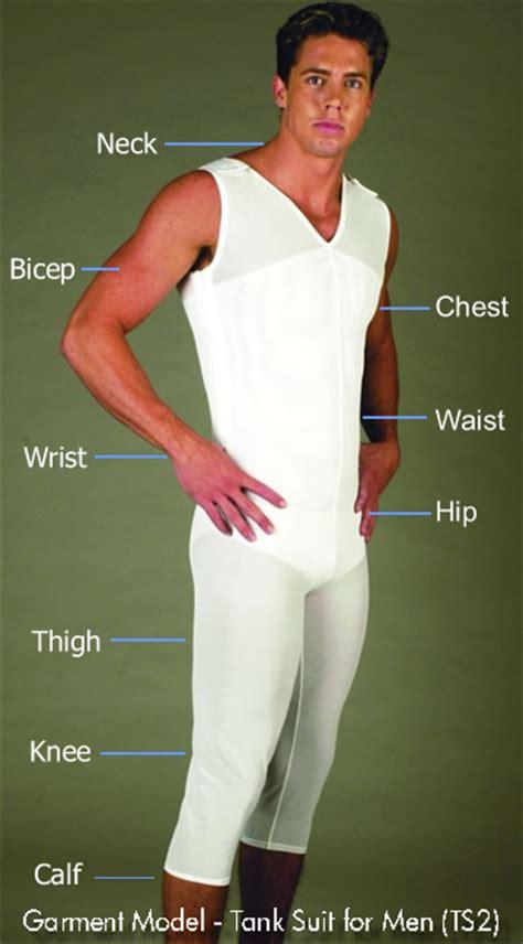 Men s Tank Suit Body Shaper Compression Garment V Neck | eBay