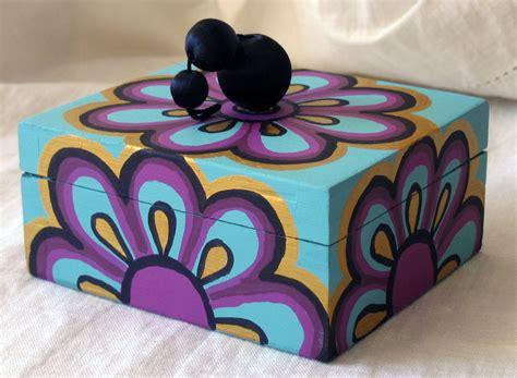 MENCHU GAMERO: Cajas pintadas a mano   Se pintan por encargo