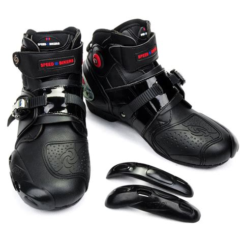 Mens Motorcycle Boots Motocross Dirt Bike Racing Boots ...