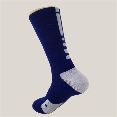 Mens Sports Running Compression Socks Football Long Socks ...