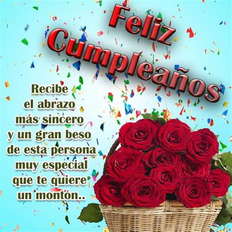 Mensajes de felicitaciones de cumpleaños en imágenes ...