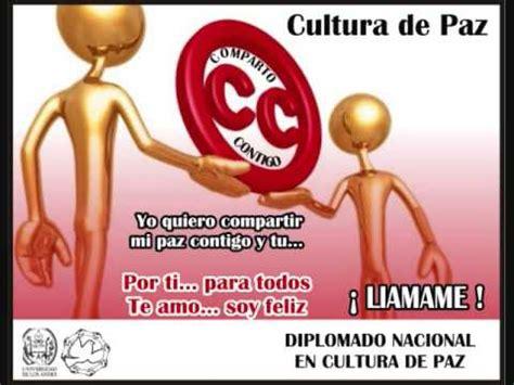MENSAJES DE PAZ. DIPLOMADO NACIONAL EN CULTURA DE PAZ ...