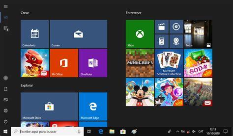 Menú Inicio a pantalla completa en Windows 10   ADSLAyuda.com