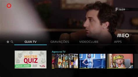 MEO   GUIA TV   YouTube