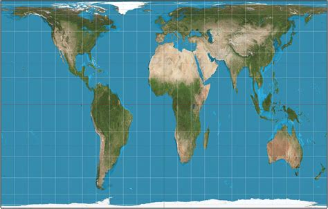 Mercator Projection v. Gall Peters Projection   Business ...