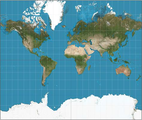 Mercator projection   Wikipedia