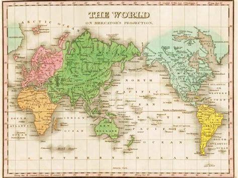 Mercator y Gall Peters un mismo mundo con visiones distintas