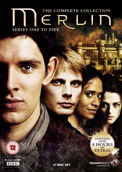 Merlin   The Complete Collection DVD | Zavvi.com