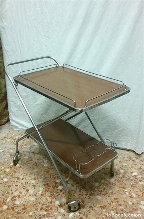 mesa camarera carrito vintage plegable.   Comprar Muebles ...