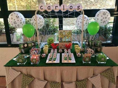 Mesa chuches fútbol | Mesa de dulces, Decoracion mesas ...