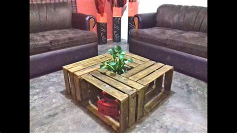 Mesa de centro para salas / Living room table   YouTube
