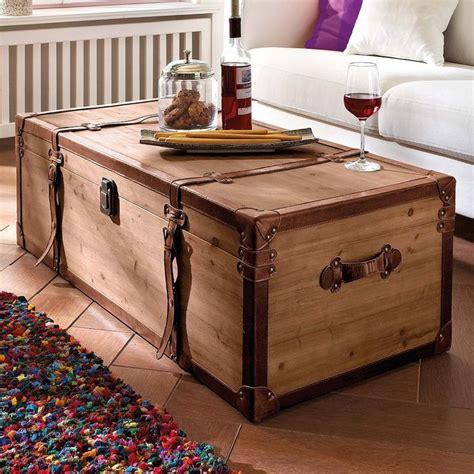 Mesa de centro   Truhe , madera, marrón, con mucho espacio ...
