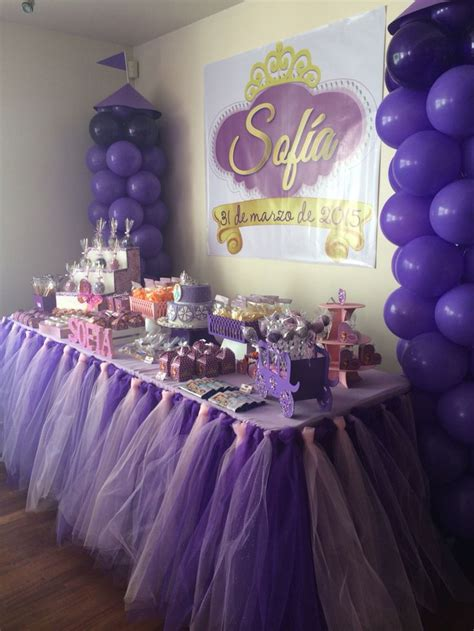 Mesa de dulces | Princesa Sofía!!! | Pinterest | Mesas