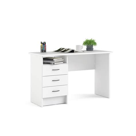 Mesa de escritorio MILETO Blanco   Conforama