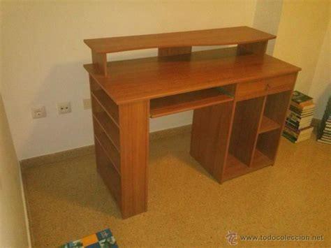 mesa escritorio para ordenador de color cerezo,   Comprar ...