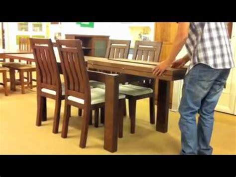 Mesa extensible de madera maciza, Los Pinos Muebles, Las ...